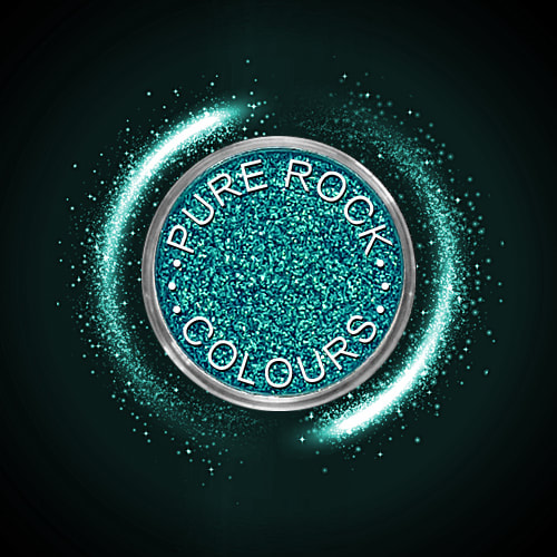 EcoSparks™ Allure - Earth friendly glitter in sparkling blue/green.