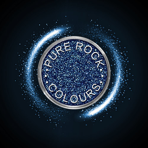EcoSparks™ Allure - Earth friendly glitter in sparkling deep blue.