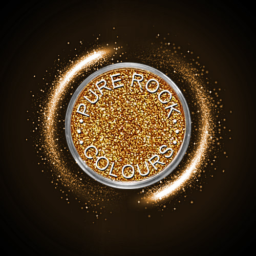 EcoSparks™ Allure - Earth friendly glitter in sparkling warm gold.