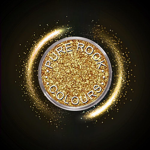 EcoSparks™ Allure - Earth friendly glitter in sparkling pale gold.