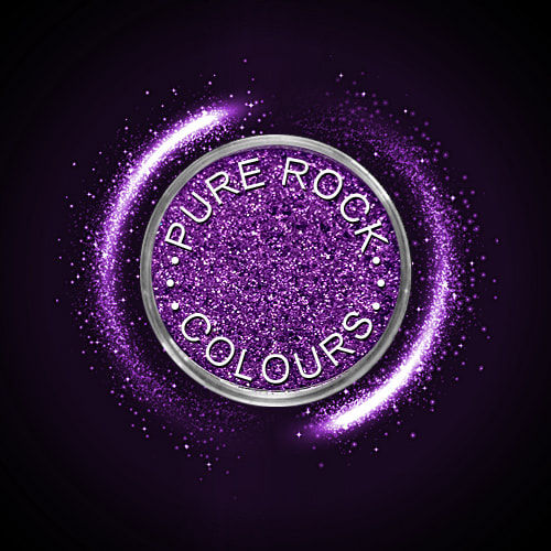 EcoSparks™ Allure - Earth friendly glitter in sparkling deep purple.