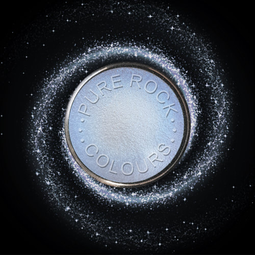 EcoSparks™ Reflections - Earth friendly, super high sparkle glitter, opaque in colour reflecting a soft subtle blue.