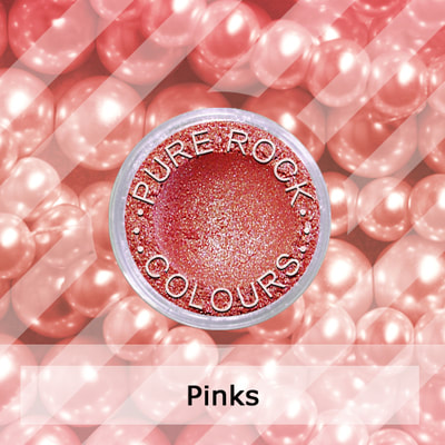 Pink Pearl Pigments for Nail Polish